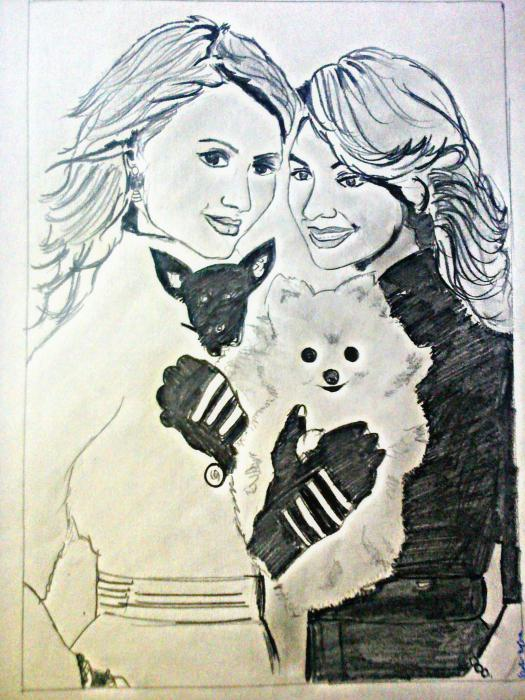 Nicole Richie, Paris Hilton par shalini